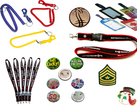 Badges and Lanyards